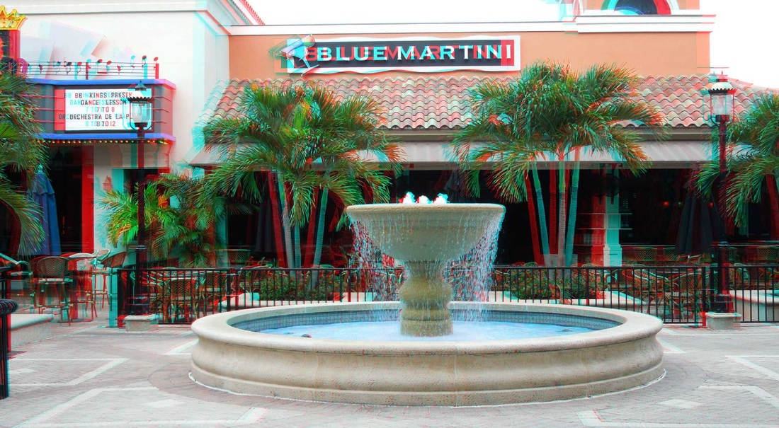3D anaglyph City Place