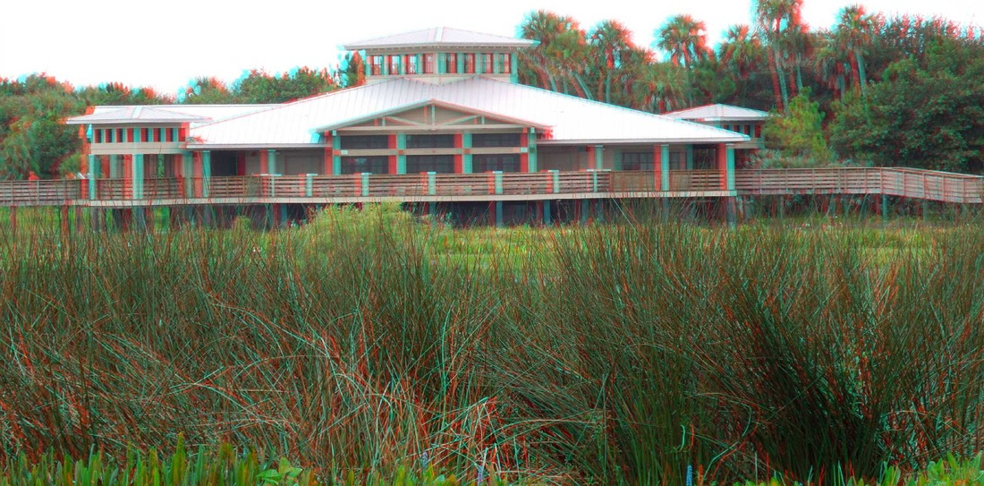 3D Anaglyph - Green Cay Nature Center