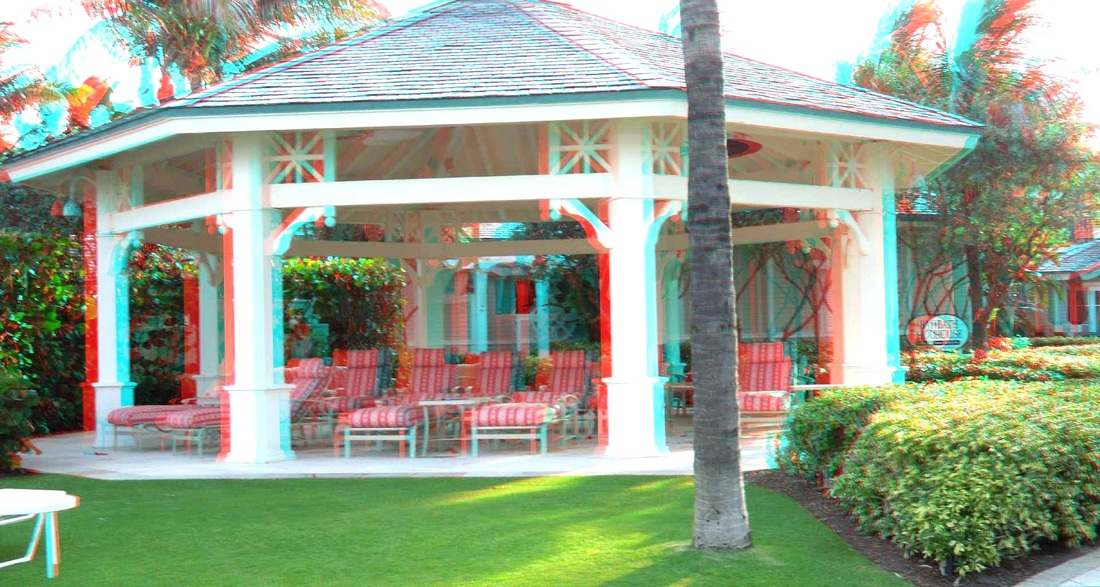 3D Anaglyph - The Breakers
